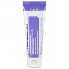 ночная маска с экстрактом центеллы purito dermide cica barrier sleeping pack