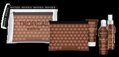 SELECTIVE PROFESSIONAL Набор для волос (шампунь-гель 100 мл, восстанавливающая маска 100 мл, защитное масло 100 мл) / TROPICAL SUBLIME