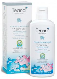 Пенка для умывания Р1 для нормальной, сухой и чувствительной кожи лица TEANA