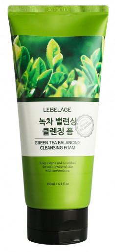LEBELAGE Пенка балансирующая с зеленым чаем для умывания 180 мл