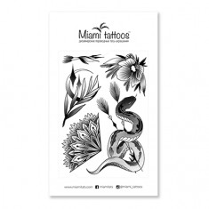 Miami Tattoos, Переводные тату Silk by Stickandbones