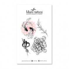 Miami Tattoos, Переводные тату Fantasy by Sticksandbones