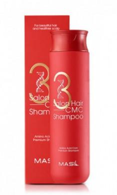 Шампунь с керамидами MASIL 3 SALON HAIR CMC SHAMPOO 300мл