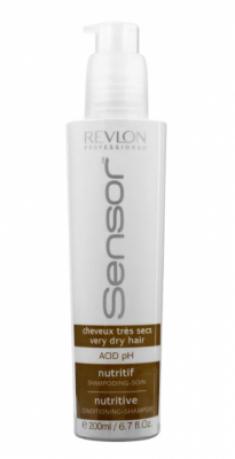 Питательный шампунь-кондиционер для Очень сухих волос Revlon Professional SENSOR NUTRITIVE SHAMPOO 200 мл