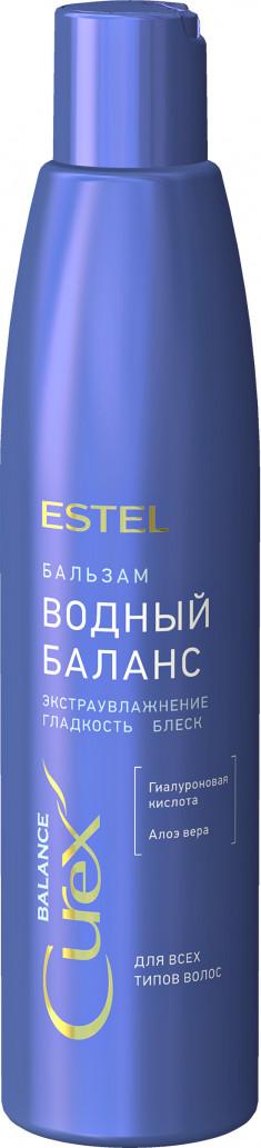 ESTEL PROFESSIONAL Бальзам для всех типов волос Водный баланс / CUREX BALANCE 250 мл