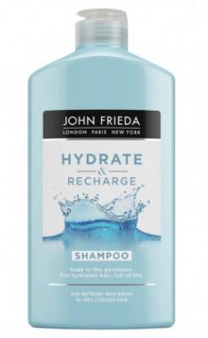 Увлажняющий шампунь для сухих волос John Frieda Hydrate & Recharge 250 мл