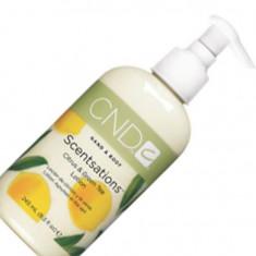 Cnd scentsations citrus and green tea lotion зеленый чая и лимон 245 мл