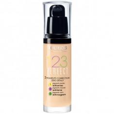 Bourjois, 123 perfect foundation, тональный крем, тон №52, легкая ваниль, 30 мл