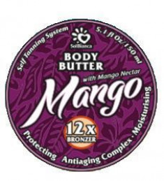 Sb твердое масло - автозагар манго body butter 8841 150мл. Sol Bianca