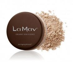 Минеральная омолаживающая пудра-основа La Mav Anti-Ageing Mineral Foundation SPF15 Light/Medium, 8 г