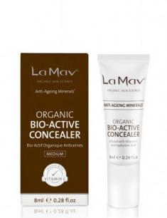 Биоактивный консилер с антиэйдж-эффектом La Mav Certified Organic Bio-Active Concealer Medium, 8 мл