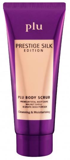 PLU Скраб ароматизированный для тела, пурпур / Prestige Silk Edition 50 г