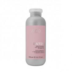 Сатин-шампунь с протеинами шелка и маслом хлопка, 350 мл (Studio Professional)