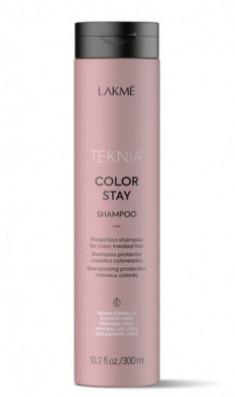 Бессульфатный шампунь для защиты цвета окрашенных волос Lakme Teknia COLOR STAY SHAMPOO 300 мл