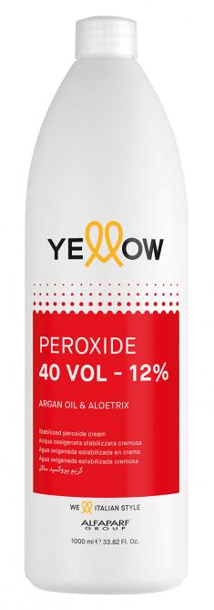 YELLOW Окислитель кремовый 12% (40 vol) / STABILIZED PEROXIDE CREAM 1000 мл