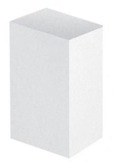 BEAUTIX Бафик полировочный двухсторонний, белый мини 180 грит