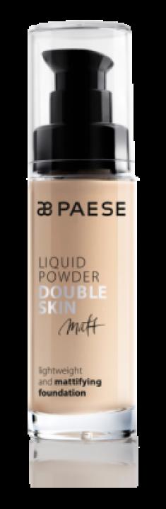 Тональный крем для жирной и комбинированной кожи Paese Matt Liquid Powder Double Skin тон 30М