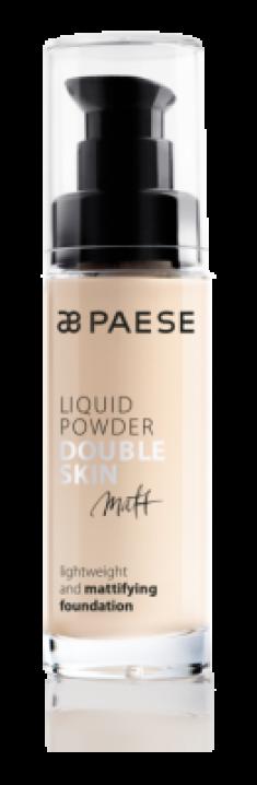 Тональный крем для жирной и комбинированной кожи Paese Matt Liquid Powder Double Skin тон 10М