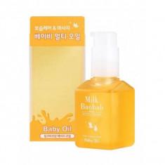 масло для лица и тела milkbaobab baby oil