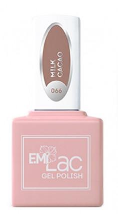 E.MI 066 CE гель-лак для ногтей, Какао с молоком / E.MiLac 6 мл