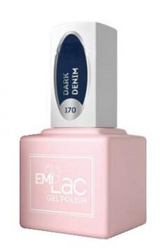 E.MI 170 FQ гель-лак для ногтей, Темный деним / E.MiLac 6 мл