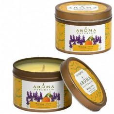 Aroma Naturals Свеча Релакс 80 г банка