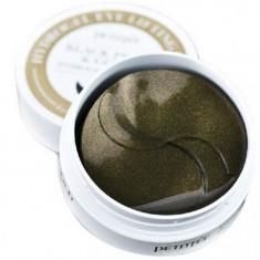 Petitfee патчи для век гидрогелевые Black Pearl&Gold Hydrogel Eye Patch 60шт