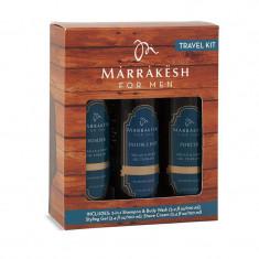 Marrakesh for Men Travel Kit набор для мужчин: шампунь 2в1, крем для бритья 100мл, стайлинг-гель 100мл