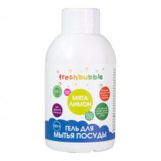 Freshbubble Гель для мытья посуды Мята и Лимон мини 100мл