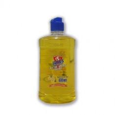 Luxus Средство для мытья посуды концентрат Чистая посуда Лимон 600мл Luxus Professional