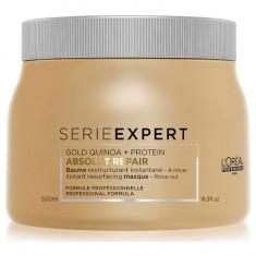 Loreal Absolut Repair Gold Quinoa + Protein Маска с кремовой текстурой для восстановления поврежденных волос 500мл LOREAL PROFESSIONNEL