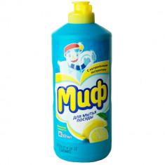 Миф Средство для мытья посуды Лимонная свежесть 500мл
