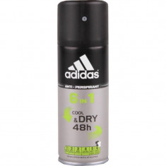 Adidas 6in1 Cool&Dry дезодорант-антиперспирант спрей для мужчин 150 мл