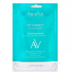 Aravia Laboratories Маска альгинатная с экстрактом мяты и спирулины Ice Seaweed Algin Mask 30 г Aravia professional