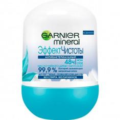 Гарньер Эффект чистоты антибактериальный дезодорант-ролик 50мл Garnier