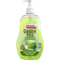 Unicum Средство для мытья посуды Зеленый чай 550мл