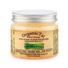 OrganicTai Скраб для тела на основе соли Лемонграсс 200мл