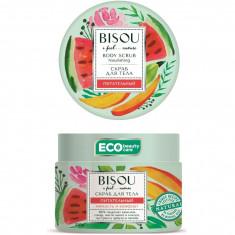 Bisou Скраб для тела питательный арбуз-манго 350г