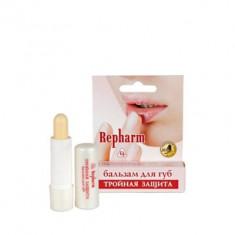 Рефарм Бальзам для губ Тройная защита противовирусный с гиалуроновой кислотой 5г РЕФАРМ