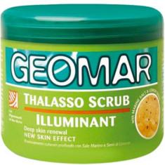 Geomar Талассо-скраб осветляющий с гранулами лимона 600 гр