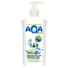 Аква Бэби Средство для мытья бутылочек, сосок и детской посуды 500 мл AQA BABY