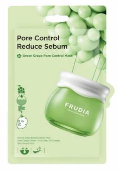 Себорегулирующая тканевая маска с зеленым виноградом Frudia Green Grape Pore Control Mask 20 мл