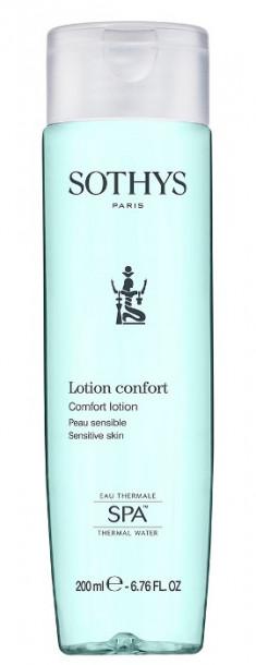 SOTHYS Тоник с экстрактом хлопка для чувствительной кожи лица / Essential Preparing Treatments 400 мл