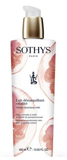 SOTHYS Молочко очищающее с экстрактом грейпфрута для нормальной и комбинированной кожи лица / Essential Preparing Treatments 400 мл