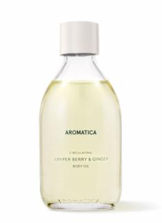 Масло для тела имбирем и можжевельником Aromatica Circulating Body Oil Juniper Berry & Ginger 100мл