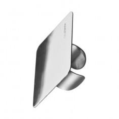 Стальная палитра кольцо на палец для смешивания косметики Manly Pro ПК