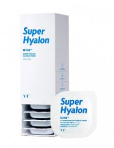 Капсульная маска увлажняющая VT SUPER HYALON CAPSULE MASK 7,5г*10шт VT Cosmetics