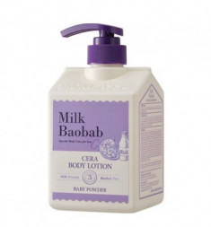 Лосьон для тела с керамидами, с ароматом детской присыпки MILK BAOBAB Cera Body Lotion Baby Powder 600 мл