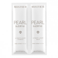 SELECTIVE PROFESSIONAL Набор для волос (шампунь 10 мл + бальзам 10 мл) PEARL SUBLIME ULTIMATE LUXURY