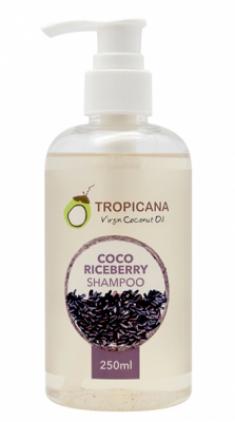 Шампунь для волос КРАСНЫЙ РИС TROPICANA Сoco riceberry shampoo 250мл